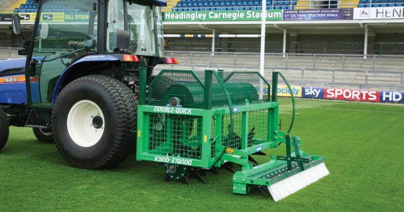 The benefits of aerating grassed areas