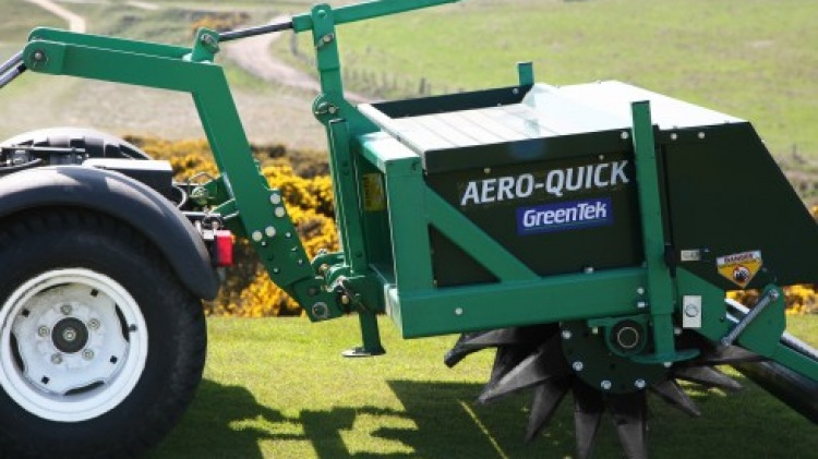 Aero-Quick on Utility Vehicle
