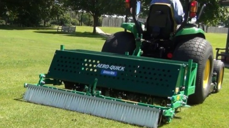 New Aero-Quick Rake and Brush